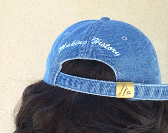 Making History Denim Baseball Cap