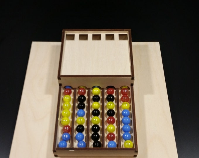 Potion Explosion marble dispenser with optional spinner