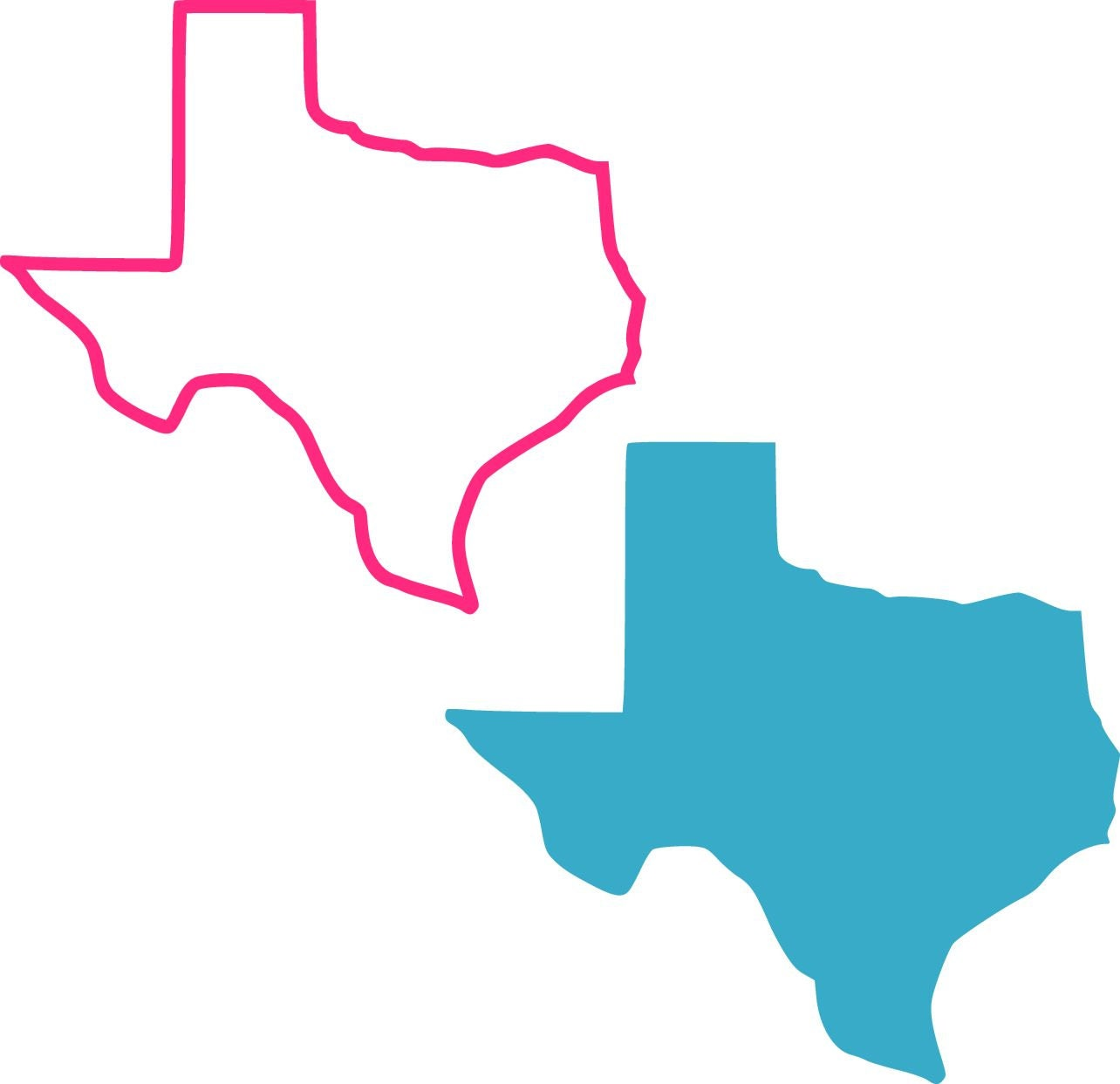 Texas Outline And Solid Svg Studio 3 Dxf Ai Ps And Pdf
