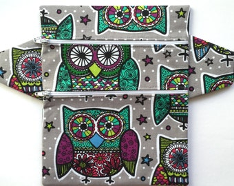 Trippy Owl Fanny Pack