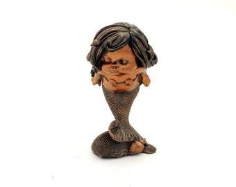 "4.25"" Little Mermaid Fairy Garden Terrarium Dollhouse Miniature Small Decor"