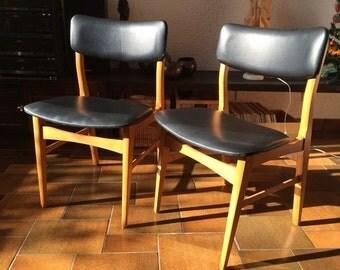 Vintage chairs in scandinavian spirit - 1960s