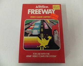 Freeway Atari Original Atari 2600 Vintage Video Game and Box
