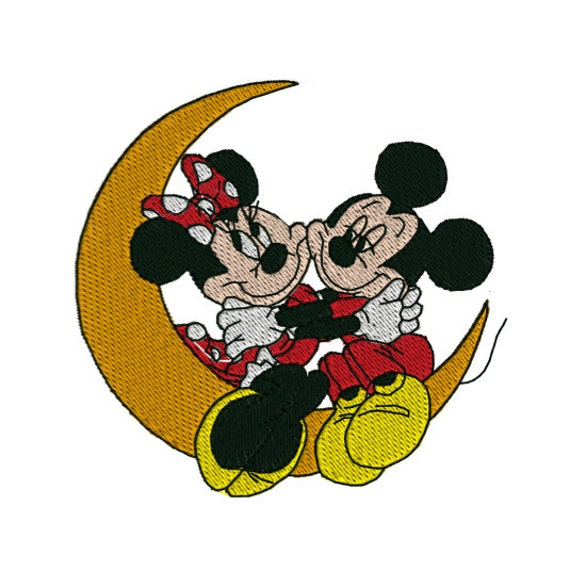 Instant download mickey minnie mouse machine by tracenlines