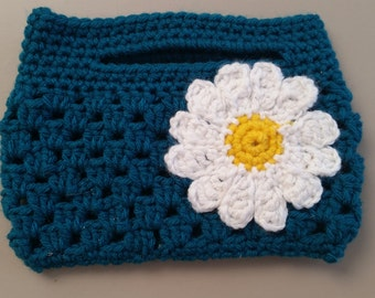 Granny Stitch Mini Clutch