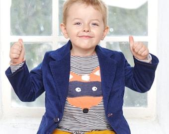 Boys blazer Toddler boy jacket Toddler blazer Corduroy blazer Boys clothing Wedding blazer 5yrs - 10yrs