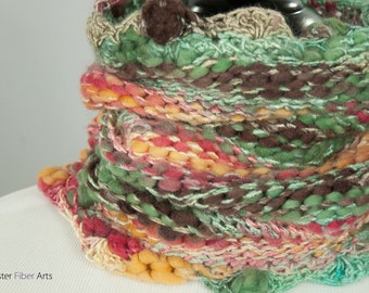 Smooth & Melty Loom Knit Cowl