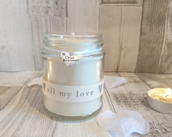 Chief Bridemaid Scented Candle Gift