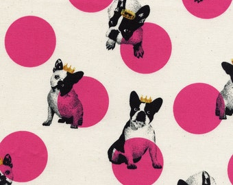 Hello Frenchie For Kokka Fabrics