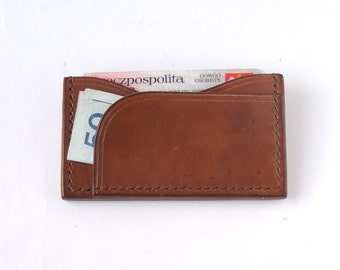 Business card holder in Brown
