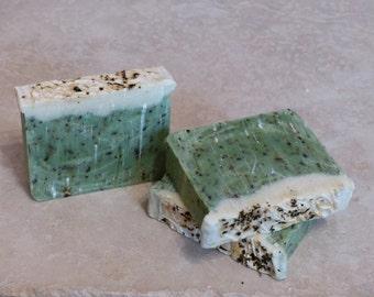 Morrocan Mint Christmas Holiday Handmade Cold Process Soap