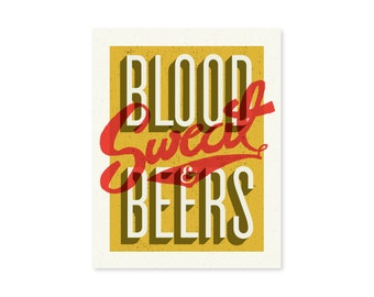 Blood Sweat & Beers
