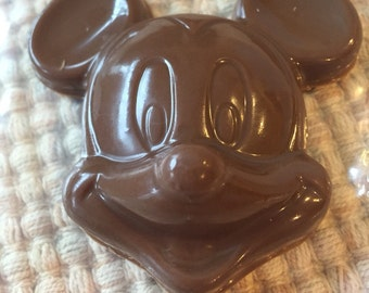 Mickey Mouse Chocolate Lollipops