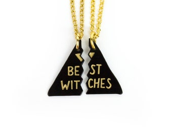Bestie Necklaces // Witches // Best Witches