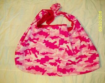 pink camo hobo bag