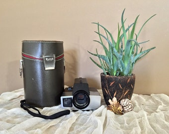 Kodak XL33 Movie Camera with Case / Vintage Movie Camera
