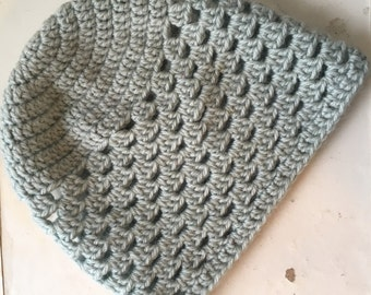 Slightly Slouchy Open Stitch Hat