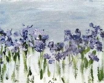 Field of Bluez by Rita Vilma-SOLD