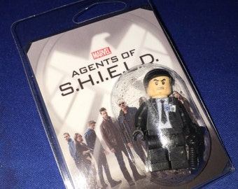AGENT COULSON Custom Minifigure Agents Of Shield