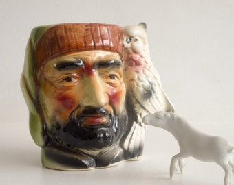Vintage pirate cup or tankard