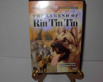 The Legend of Rin Tin Tin, 48 Classic Episodes, 4 DVD'S, Black White , Free Shipping