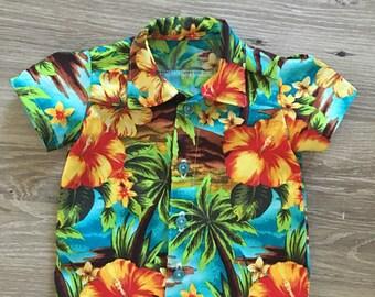 Hawaiian Shirt Infant