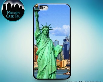 Statue of Liberty New York NYC USA Rubber Case for iPhone 6S iPhone 6S Plus iPhone 6 iPhone 6 Plus iPhone 5S iPhone 5 iPhone 5C iPhone SE