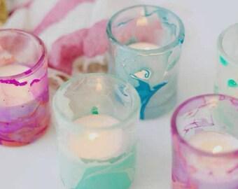 Marble Votive Candleholders