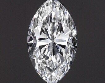 GIA Certified 0.71ct F VS2 Marquise Cut Diamond Engagement Loose VG Polish No Fluorescence 8851