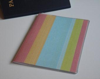 Passport Cover, Caribbean Stripes, Passport  Sleeve, Case, Holder