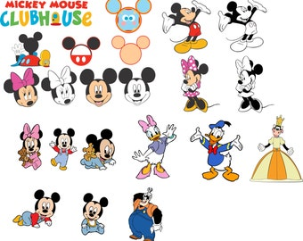 Mickey Mouse Clubhouse SVG for Cricut