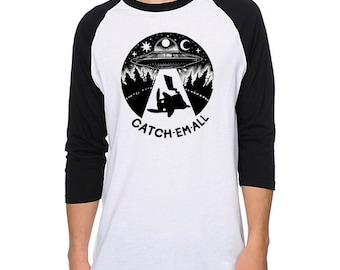 Catch Em All Baseball Tee