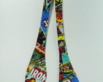 Men's Avengers Classic Comic Book Adjustable Self Tie Bow Tie