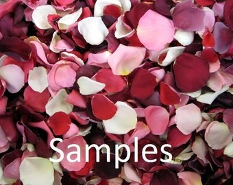 Freeze Dried Rose Petal Samples, 2 cups of REAL rose petals, perfectly preserved
