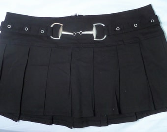 Punk Pleated Skirt