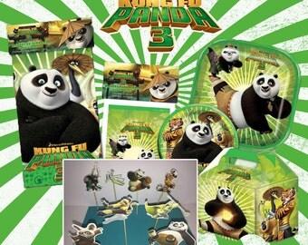Kung Fu Panda Set birthday party