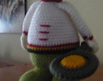 Crochet amigurumi Cook