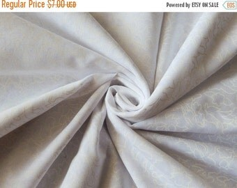 10% OFF 1 yard of Brasso Print Fabric, Indian Cotton Fabric, White Printed Fabric, Ethnic Fabric, Indian Fabric