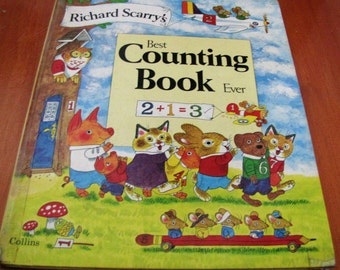 Richard Scarry's Best Counting Book Ever. Collins. Hardcover. 1979.