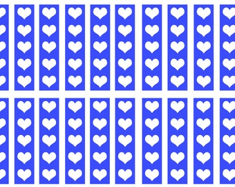 Verticle Hearts