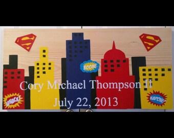 Superman boy sign