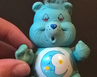 "Vintage ""Bedtime"" Care Bear Figurine **FREE SHIPPING**"