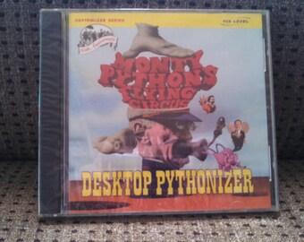 Monty Python's Flying Circus Desktop Pythonizer PC Dos CD-Rom 7 Level, Inc. Software
