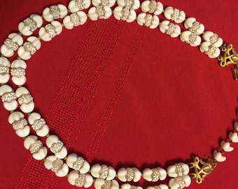 Vitage Trifari White Necklace