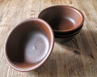 "Set of 2 Muesli/Cereal Bowls Arabia of Finland ""Ruska"""