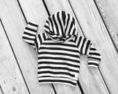 Black gray stripe hoodie,Baby sweatshirt,Gender neutral Hoodie,boy girl Sweatshirt,modern baby clothing, gift,infant hoodie,baby girl hoodie