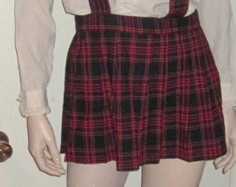 3 PC Classic Catholic School Girl Costume Size MEDIUM