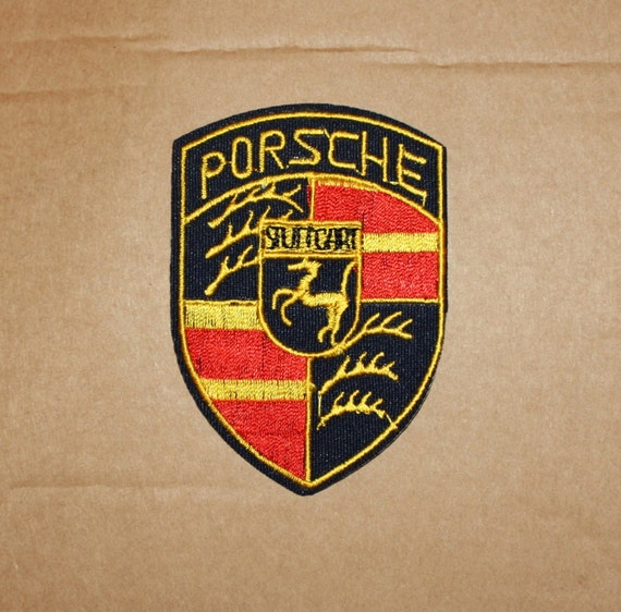Porsche Iron On Patch Embroidered Logo Racing Team by ...