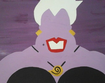 Ursula Inspired Canvas Panel