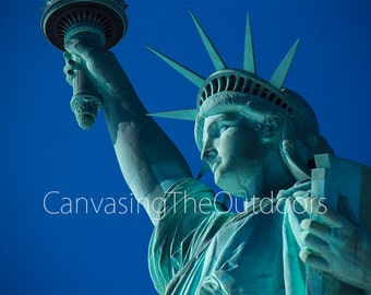 Statue of Liberty Canvas Wall Art